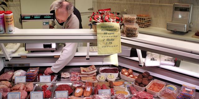 'Vooral 50-plussers kopen vlees bij slager'