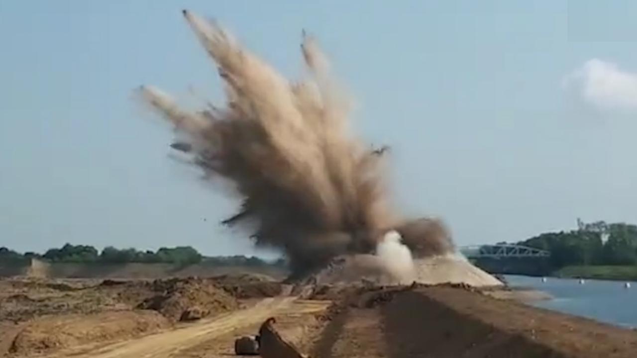 EOD laat bom uit Tweede Wereldoorlog ontploffen in Meerssen