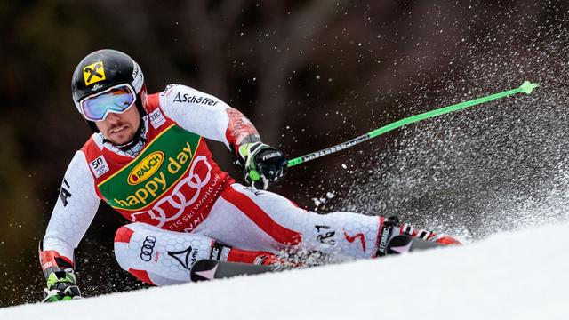 Skiër Hirscher breekt enkel bij val tijdens slalomtraining