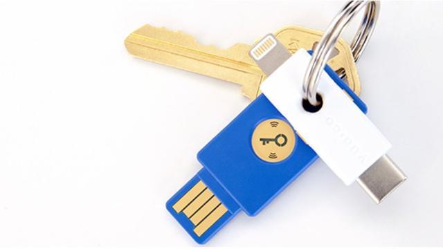 Yubico komt met 'wachtwoordsleutel' voor iPhone