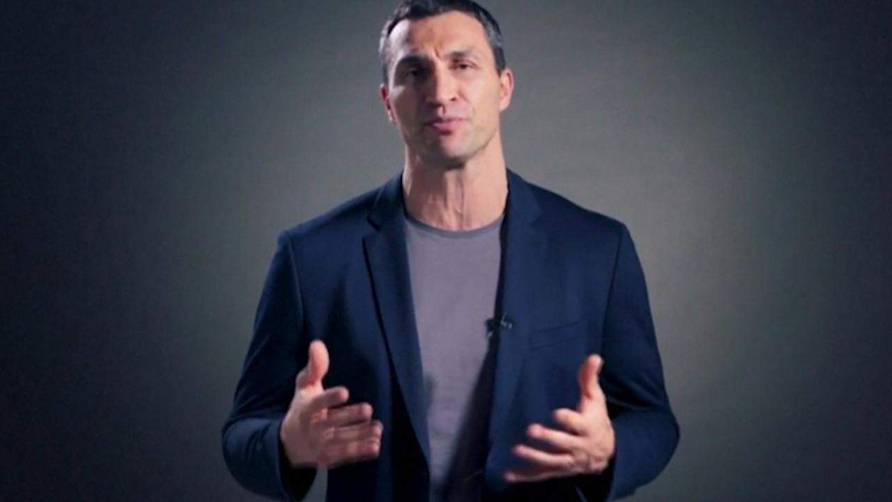 Klitschko heeft videoboodschap voor fans