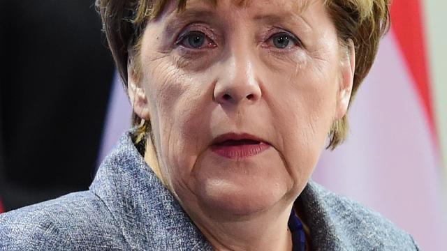 CDU-aanhang steunt Angela Merkel stevig