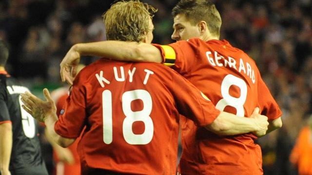 Gerrard, Carragher, Kalou en Van Gaal naar afscheidswedstrijd Kuijt