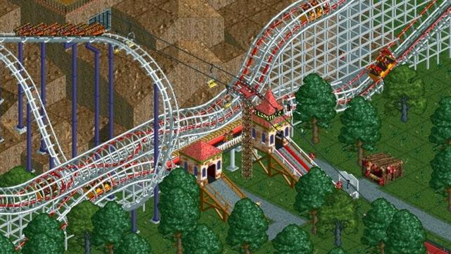 RollerCoaster Tycoon 20 jaar: 'Je kunt een beetje god spelen'