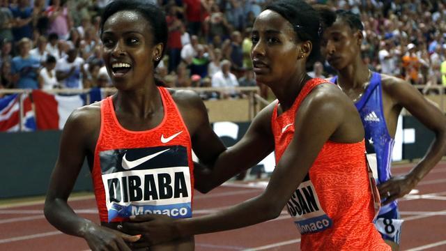 Hassan en Schippers tweede in Monaco, wereldrecord Dibaba