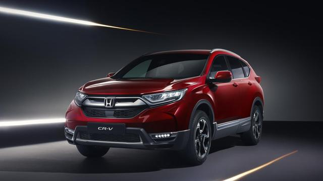 Honda toont Europese uitvoering nieuwe CR-V