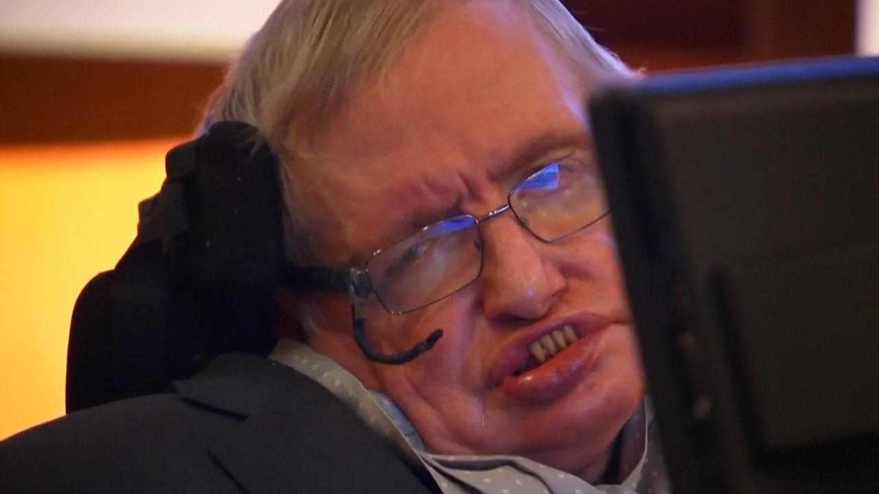 Natuurkundige Stephen Hawking op 76-jarige leeftijd overleden