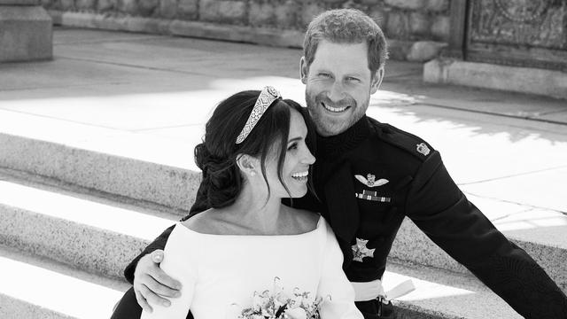 Officiële trouwfoto's Harry en Meghan gepubliceerd