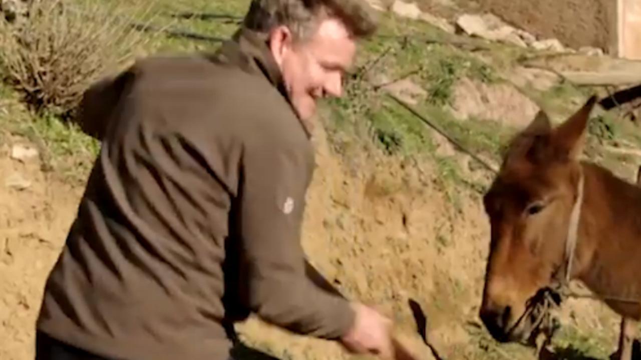 Gordon Ramsay stuit op bomen, bergen en ezels in reisprogramma