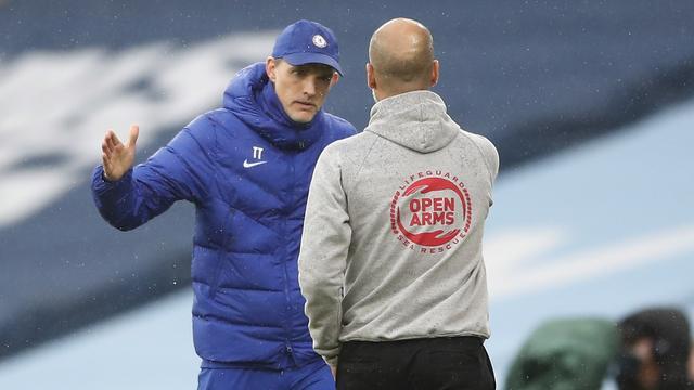 Josep Guardiola moest Chelsea-trainer Thomas Tuchel de afgelopen tijd al twee keer feliciteren.