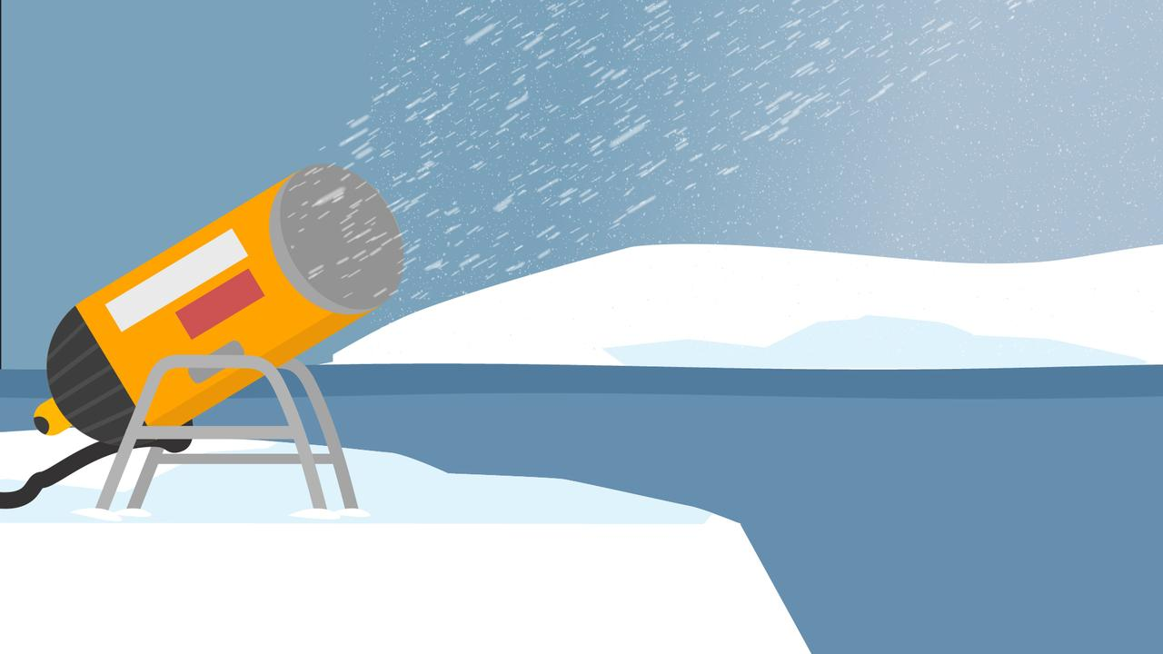 Gaat nepsneeuw de ijskap van Antarctica redden?