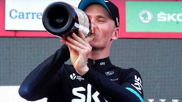 Froome waarschijnlijk niet van start in Giro 2017