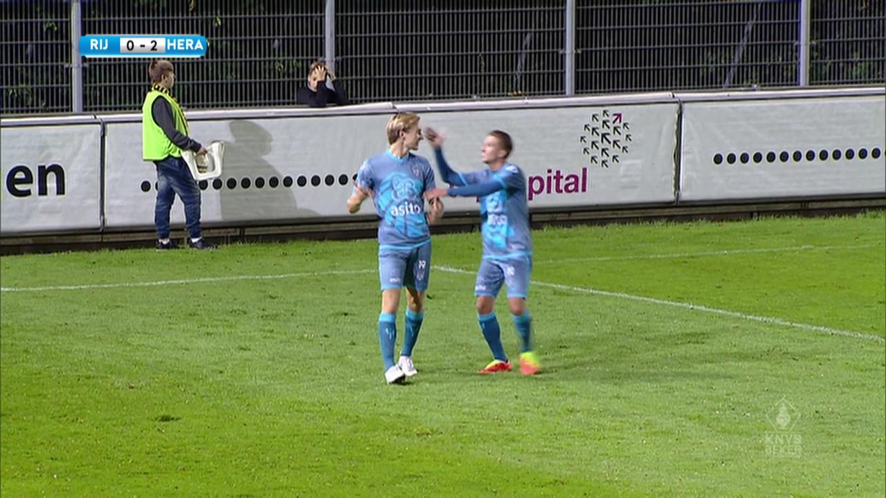 Samenvatting Rijnsburgse Boys-Heracles Almelo (0-2)