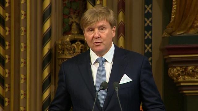 Staatsbezoek: Koning betreurt Brexit in toespraak Brits parlement