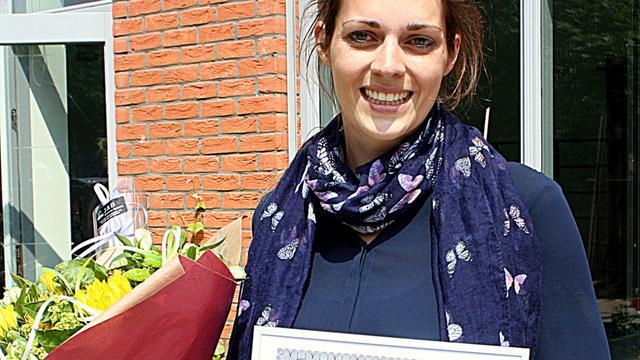 Dorien König verkozen tot Leraar van Utrecht 2015