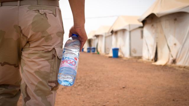 Nederlandse militairen in Mali lopen eigen Vierdaagse