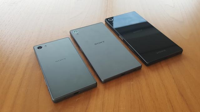 'Sony maakt veel minder smartphonemodellen in 2016'