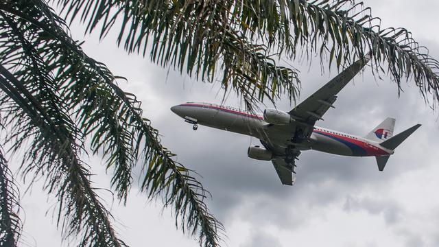 Vliegtuig Malaysia Airlines vliegt 'verkeerde' route