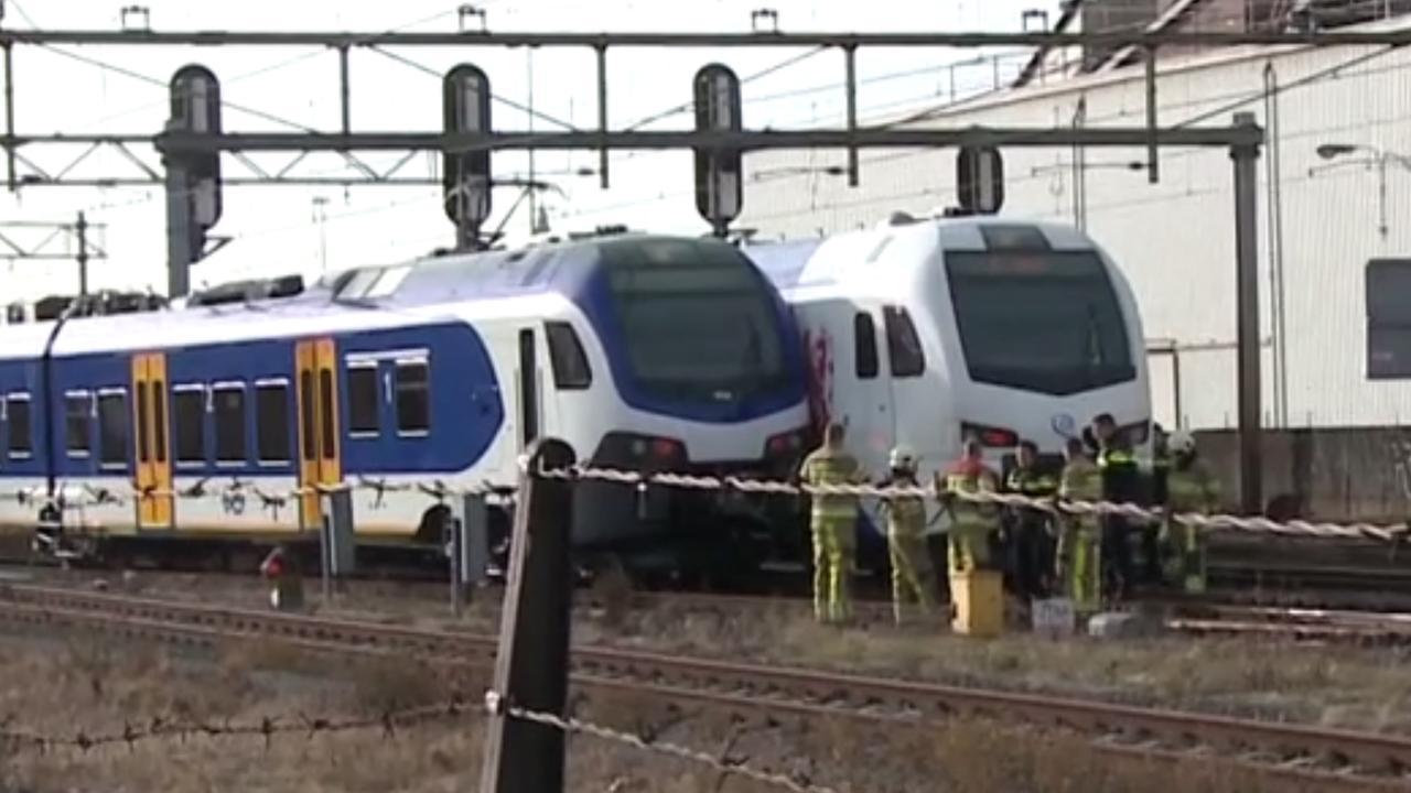 Botsing tussen twee treinen bij Maastricht