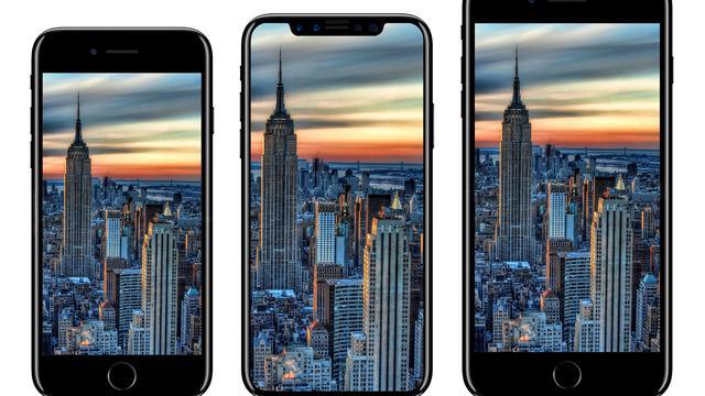 'iPhone 8 heeft geen vingerafdrukscanner'