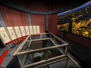'Filmzaal komt op 45 meter hoogte'