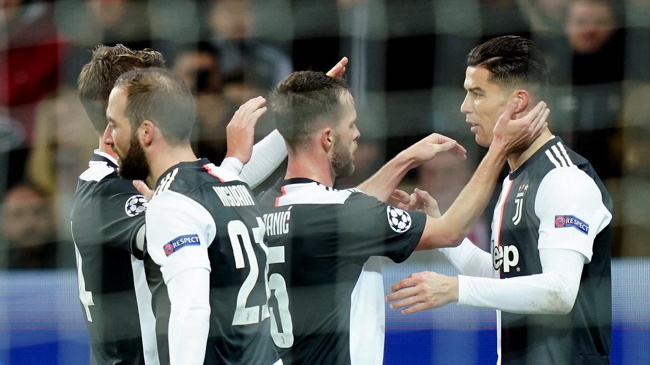 Ronaldo zet Juventus op voorsprong tegen Bayer Leverkusen