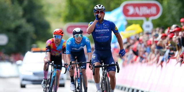 Vluchter Lampaert zegeviert in Tour of Britain, Hayter behoudt leiderstrui