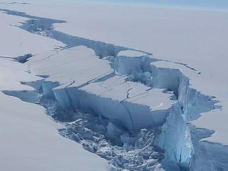 Vooral veel ijs gesmolten in afgelopen vijf jaar