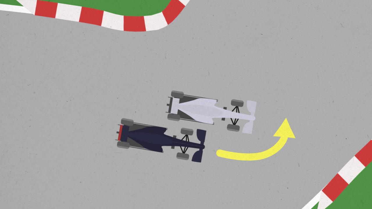 Waar ging het mis tussen Verstappen en Hamilton in Mexico?