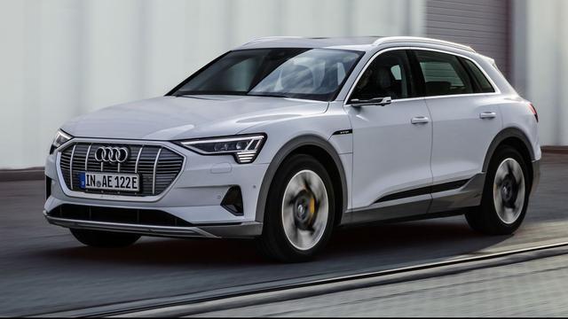 Audi kondigt minder krachtige versie van elektrische e-tron aan