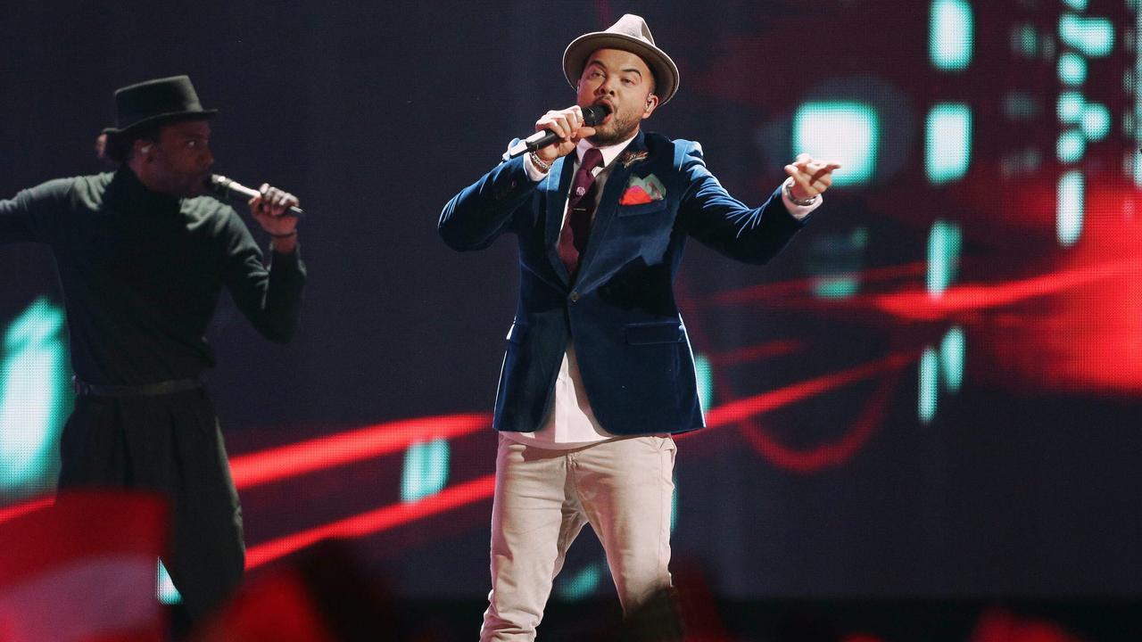 Guy Sebastian in halve finale Eurovisie Songfestival