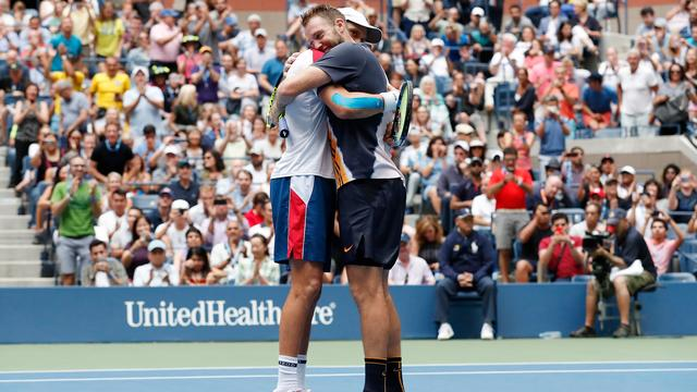 Mike Bryan door winst US Open Grand Slam-recordhouder dubbelspel