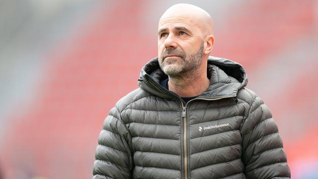 Bosz moest in maart het veld ruimen bij Bayer Leverkusen.
