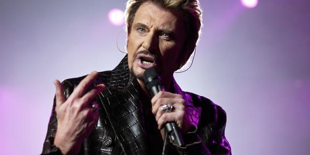Franse rocklegende Johnny Hallyday (74) overleden