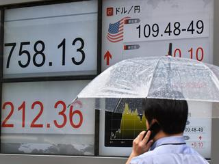 Nikkei-index eindigde 2,2 procent in de min op 21.811,93 punten