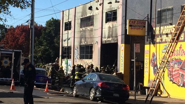 Brand tijdens feest in Oakland eist negen levens, tientallen nog vermist