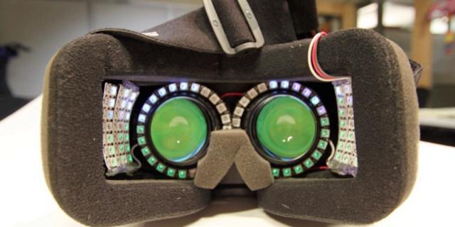Speciale lampjes moeten tunnelvisie en misselijkheid bij VR tegengaan