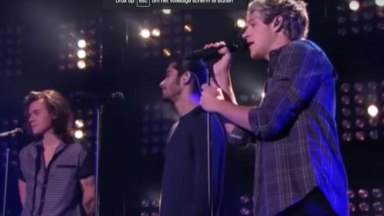 One Direction zingt 'Night Changes' bij RTL Late Night