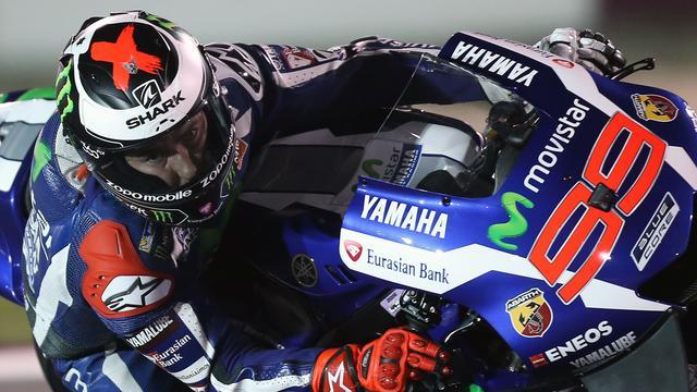 Lorenzo wint in Qatar eerste Grand Prix van MotoGP-seizoen