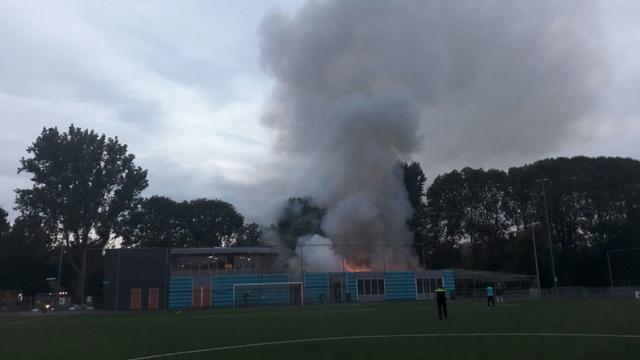 Stad-Groningse voetbalclubs door brand zwaar gedupeerd