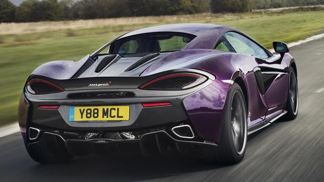 Nieuwe MSO-opties beschikbaar voor McLaren Sport Series