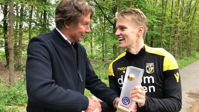 Vitesse-aanvaller Ødegaard uitgeroepen tot Eredivisie-speler van de Maand