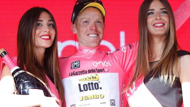 Kruijswijk verwachtte niet roze trui te pakken in koninginnenrit Giro