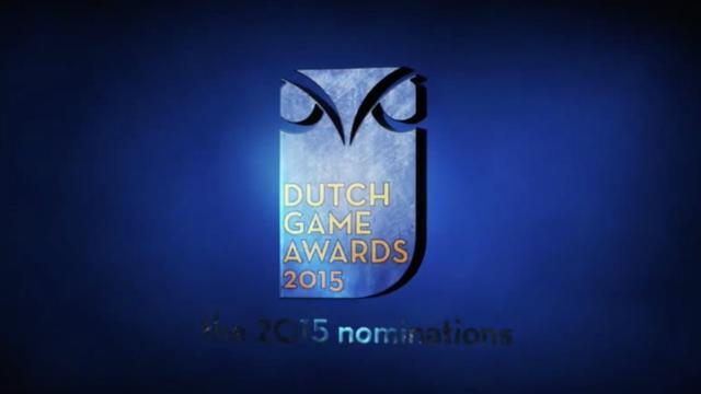 Nominaties Dutch Game Awards 2015 bekend
