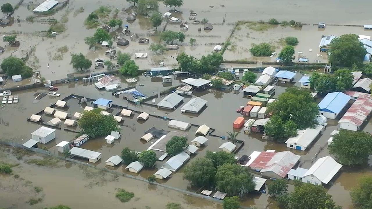 'Zwaarste overstromingen in decennia' teisteren Zuid-Soedan