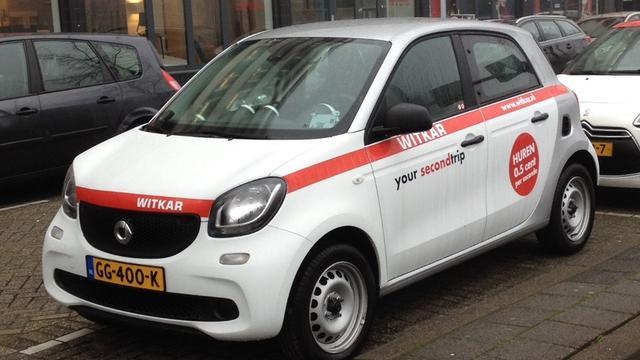 Utrecht telt dit jaar meeste deelauto's per 100.000 inwoners