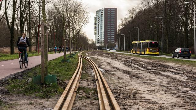 Provincie Utrecht blijft pal staan voor dure Uithoflijn