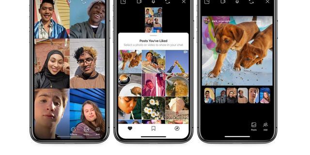 Social distancing op Instagram: samen foto's kijken in videochats