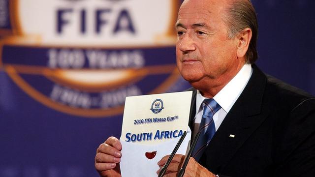 FIFA geeft omkoping toe bij WK's 1998 en 2010