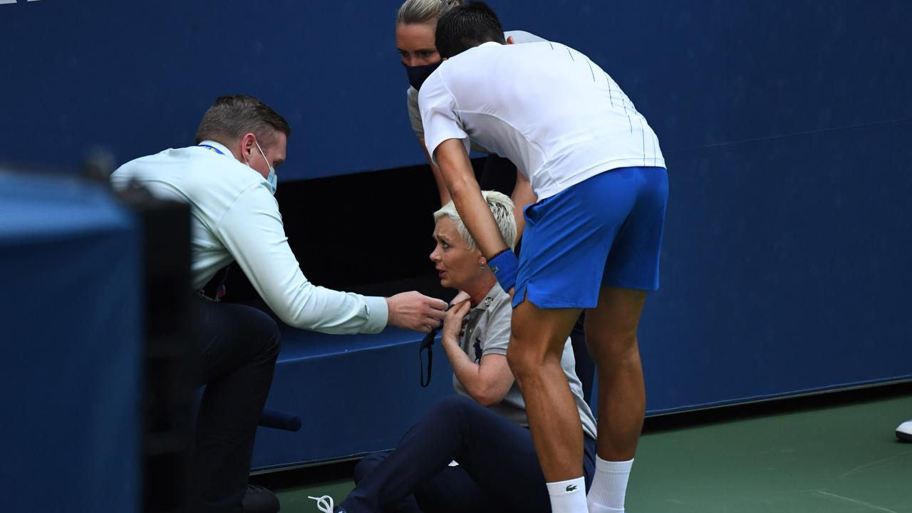 The Regulation That Kicked Novak Djokovic Out Of The Us Open Disqualified Financial Sanction And Loss Of Points Teller Report